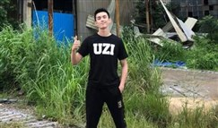 Uzi头号男粉吴磊送祝福:等场金色的雨