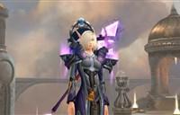布甲幻化:紫银黑配色一低吟肃穆的圣歌