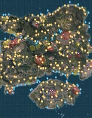 绝地求生中文地图 中文全物资标注地图