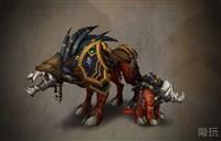 《军团再临》典藏版:地狱犬坐骑预览视频