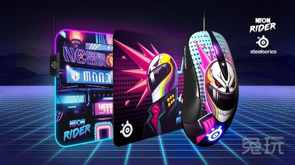 全球唯一編號!賽睿發布CS:GO Neon Rider霓虹騎士限量版外設
