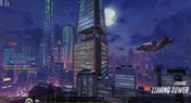 守望先锋地图预览:中国风的漓江塔