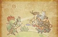 阵风魔兽Q史萌系漫画:阿拉索王国的建立