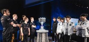 S8决赛出征仪式:IG、FNC两队选手对位照