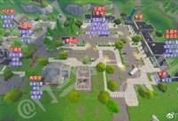 堡垒之夜零售商场怎么打 零售资源位置分布