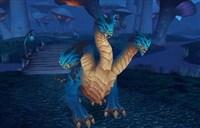 德拉诺之王猎人新宠物 雷霆三头蛇霸气十足