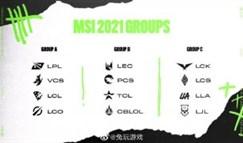 一图版2021MSI季中冠军赛分组图!