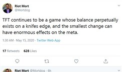 云顶之弈设计师:云顶平衡性永远处于刀尖
