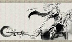高端大气上档次:LOL中国水墨风格英雄画作