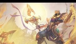 lol英雄联盟新英雄沙漠皇帝阿兹尔出装技能加点符文怎么配