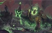 魔兽玩家原创画作:统领燃烧军团的萨格拉斯