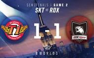 2016全球总决赛10月22日 ROX vs SKT第二场录像